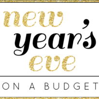 New Year's Eve On A Budget