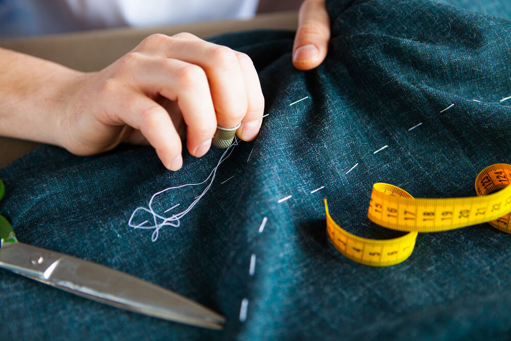 She makes clothes tailored for success.