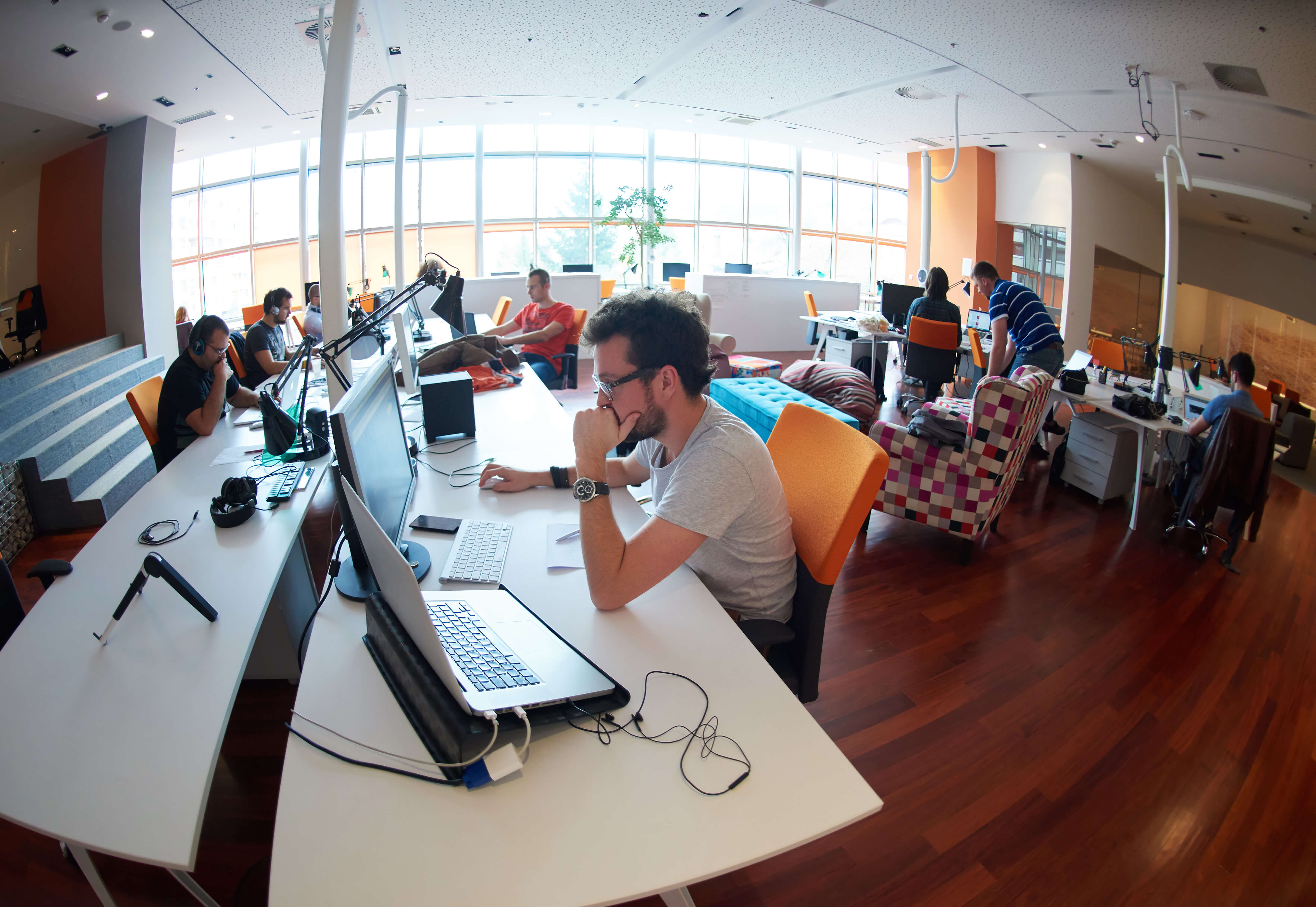 People working at a startup is key to staying relevant.
