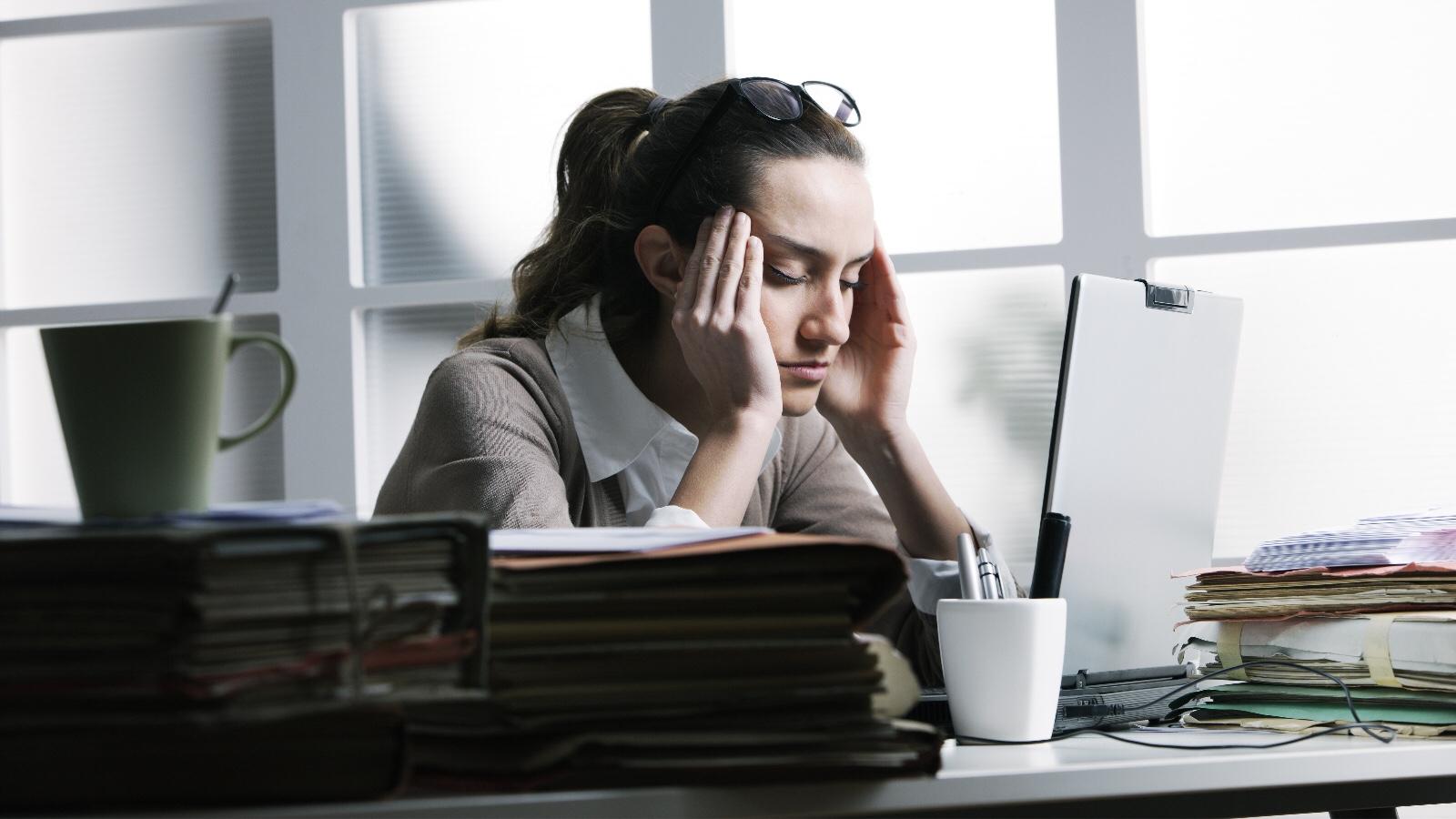 job hunting stress